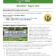 Flints Grove Newsletter - August 2020